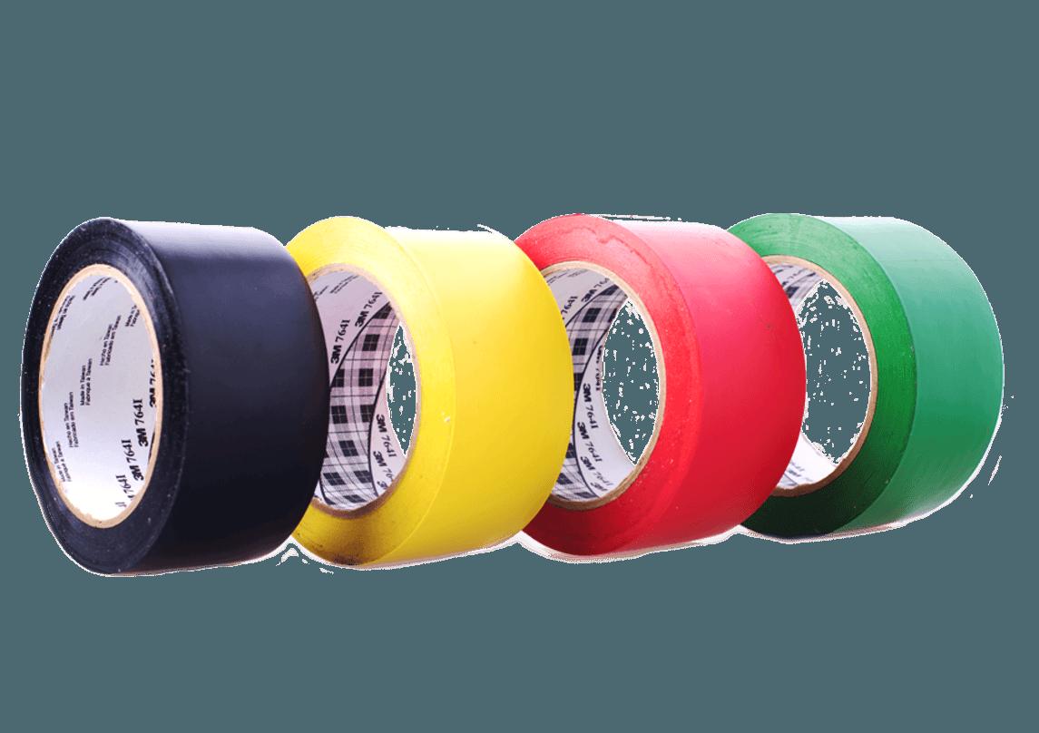 Применение клейкой ленты