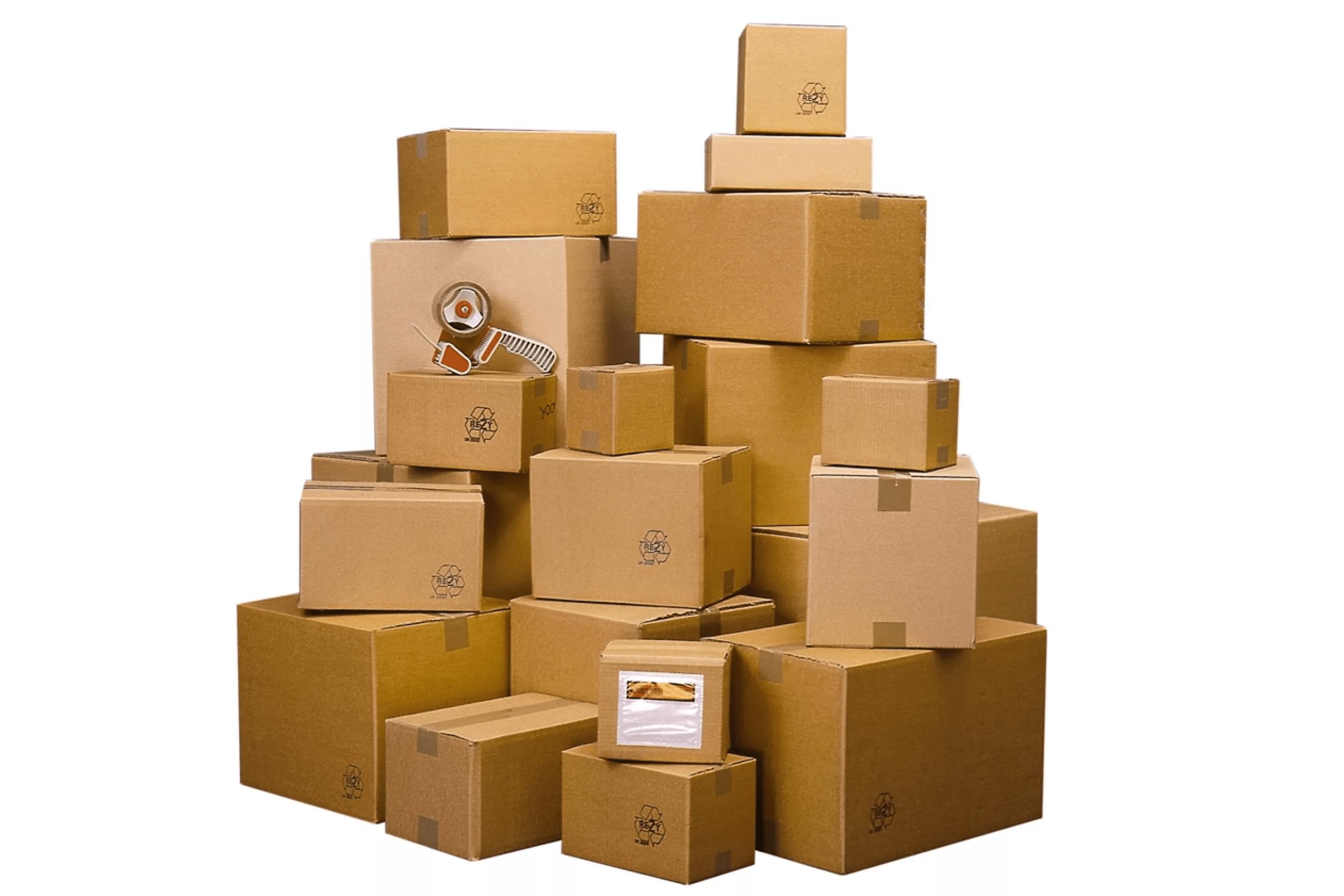 Упаковка малогабаритных грузов